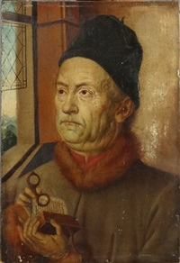 portrait du chanoine van der paele? by jan van eyck