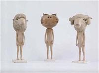 silent neighbors (3 works) by fumio yamazaki