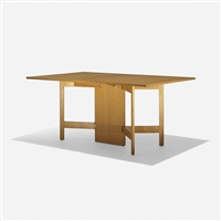 gate-leg dining table (model 4656) by george nelson & associates