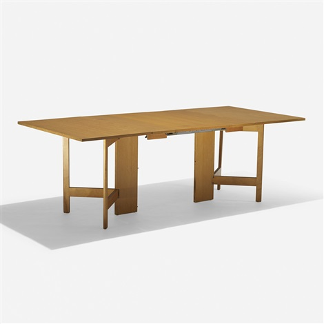 GateLeg dining table model 4656 by George Nelson Associates on