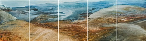 landschaft 4 others 5 works by siegfried anton santoni