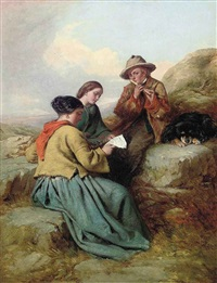 the music lesson by james john hill