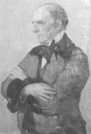 portrait of a man by re miller