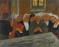 dévotion à s. herbot (le pardon) by paul sérusier