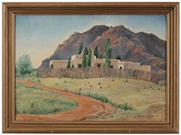 house on the mesa, colorado springs, colorado by dorothy carnine scott
