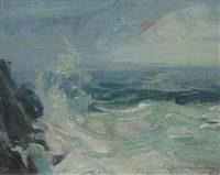 the storm, ogunquit, me by charles walter simpson
