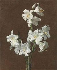lis blancs by henri fantin-latour