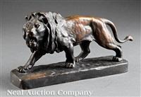 lion rugissant by henri crous vidal