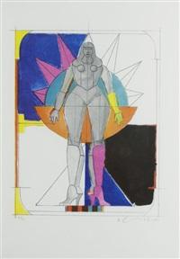 untitled i by richard lindner