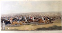 The Start for the Memorable Derby of 1844