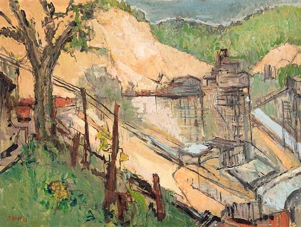 steinbruch dossenheim by otto niemeyer holstein