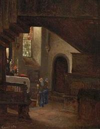 kirkeinterior by vincent stoltenberg-lerche