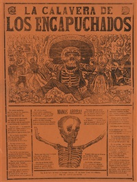 collection of 25 broadsides by josé guadalupe posada