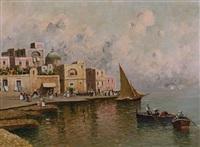 pescatori (borgo della costiera amalfitana) by nicolo de corsi
