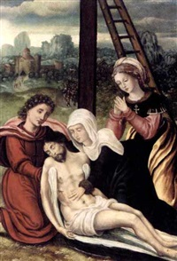 the lamentation by dutch school-southern (17)