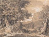 biblis changée en fontaine by pierre henri de valenciennes
