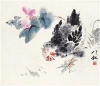 大吉图 镜心 设色纸本 by xiao lang