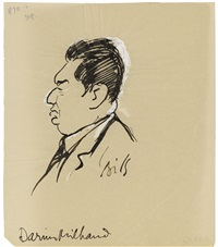 darius milhaud (1892 -1974) (+ 9 others, various sizes; 10 works) by claude bils
