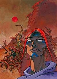 le monde d'arkadi (for la corne rouge) by caza