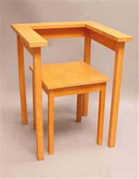 table chair by richard hutten