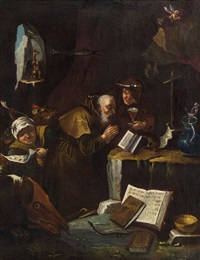 versuchung des hl. antonius by david teniers the younger