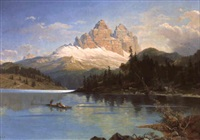 der missurinersee in sudtirol by friedrich reinhold the younger