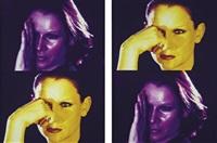 nachtmensch (2 works) by katharina sieverding