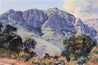 mountain track near pniel by ted (tjeerd adriaanus johannes) hoefsloot