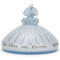flacon au coeur des calices by rené lalique