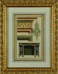 templates of an interior by michelangelo pergolesi