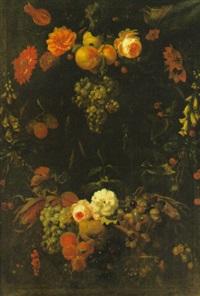 blomsterstilleben by coenraet (conrad) roepel