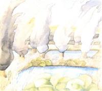 teichlandschaft by gerti fröhlich