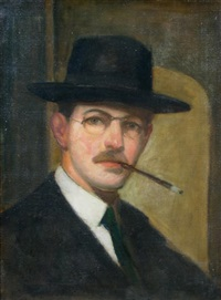 self portrait by richard edward miller