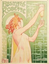absinthe robette by henri privat-livemont