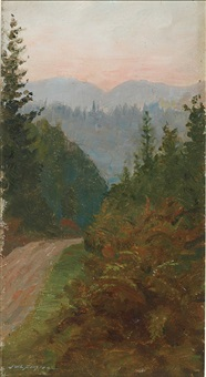 mountain pass by john wycliffe lewis forster