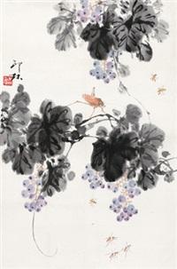 葡萄草虫 by xiao lang