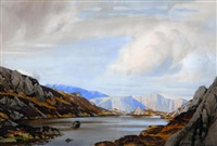 view in the lake district by william heaton cooper