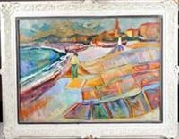 teppichhändler an der côte d'azur by simon claude (vanier) abramovitsch