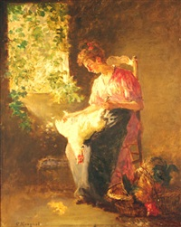 avant le repas by charles monginot