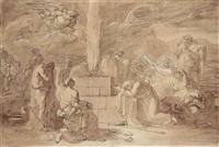 sacrifice de noé après le déluge by vincenzo camuccini