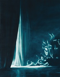veil by mark tansey