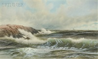 crashing surf by george howell gay