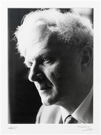 portrait of stephen spender by mark gerson