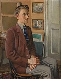 porträtt av erik by arvid fougstedt