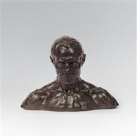 büste eines mannes (buste d'homme) by george minne
