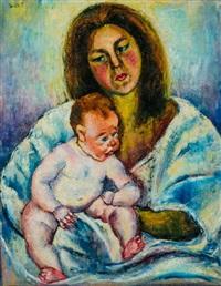anya gyermekével by jozsa jaritz