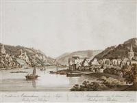 ansicht von astmannshausen (after l. janscha) by johann ziegler