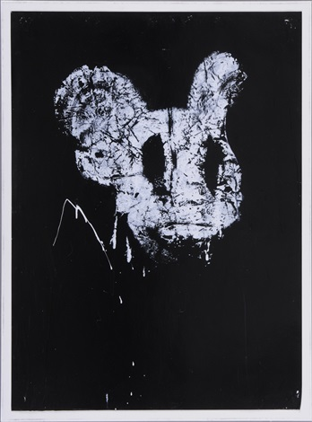 untitled mickey by joyce pensato