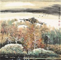 江南小景 by liu maoshan