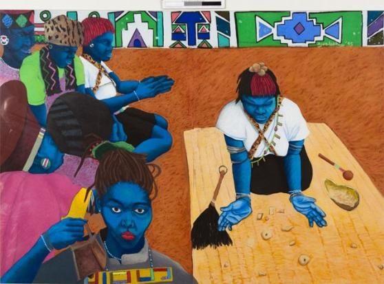 Sangoma by Zwelethu Mthethwa on artnet